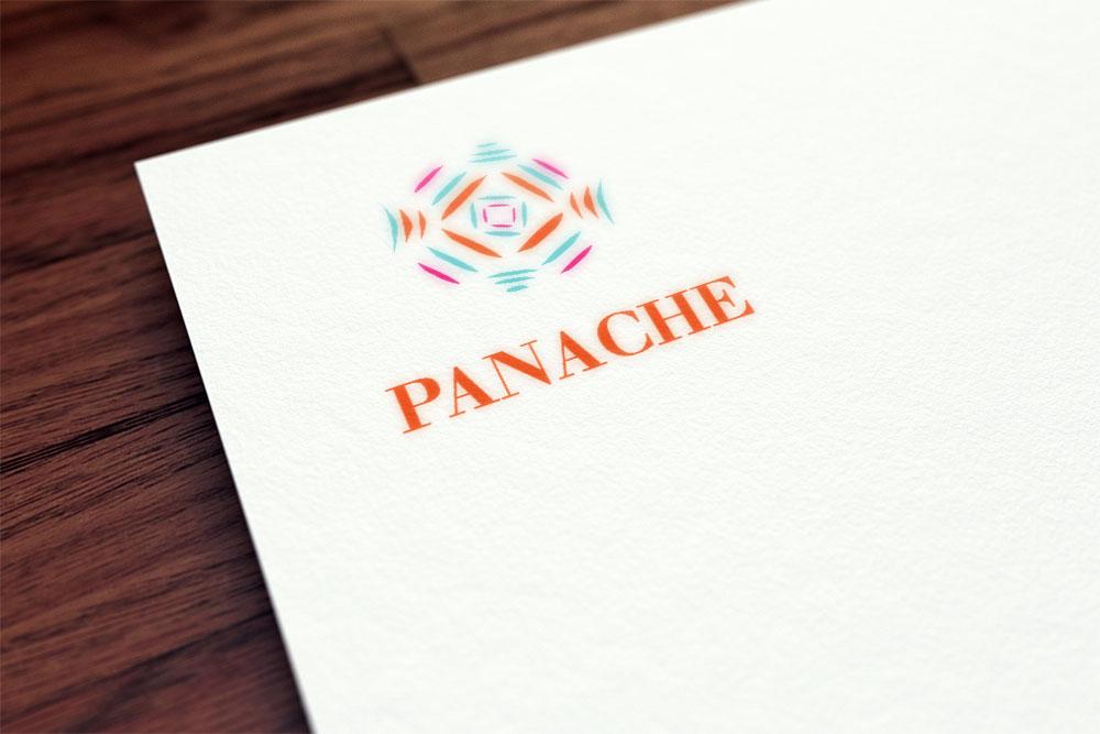 Panache – logotype, carte de visite et entête facebook
