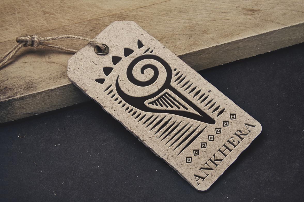 Ankhéra, création de logo pour une ligne de vêtement